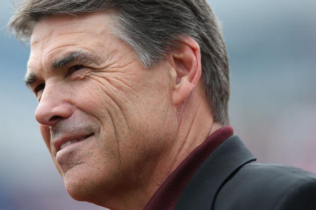 Rick Perry Would Love to Bring the Chargers to San Antonio