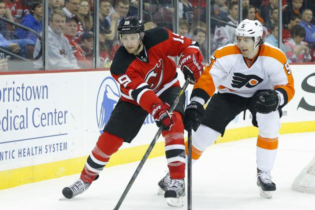 Devils Endure Flyers' Onslaught to Rally in Win