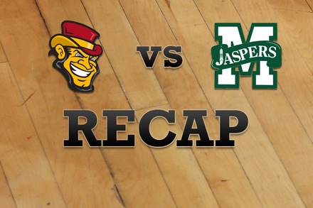 Iona vs. Manhattan: Recap, Stats, and Box Score