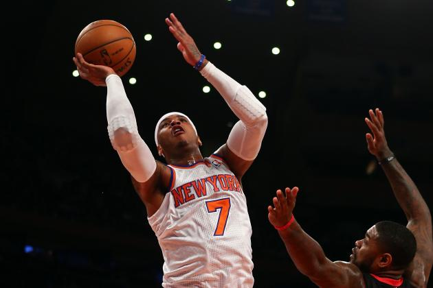 Is Carmelo Anthony Shooting Too Much?