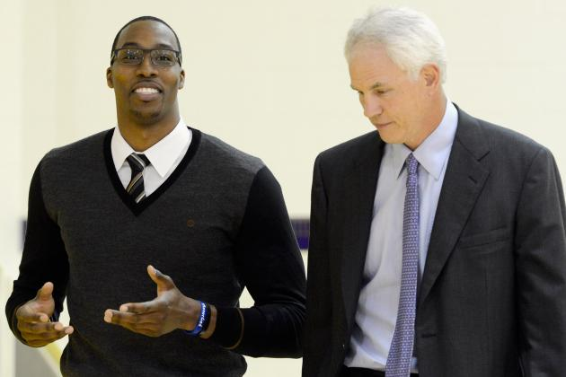 Kupchak: No Talks on Dwight-for-Rondo Trade
