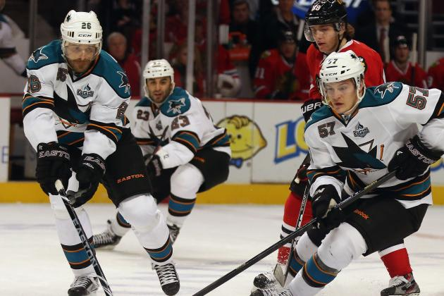 San Jose Sharks' Miserable Month Continues with Loss to Chicago Blackhawks