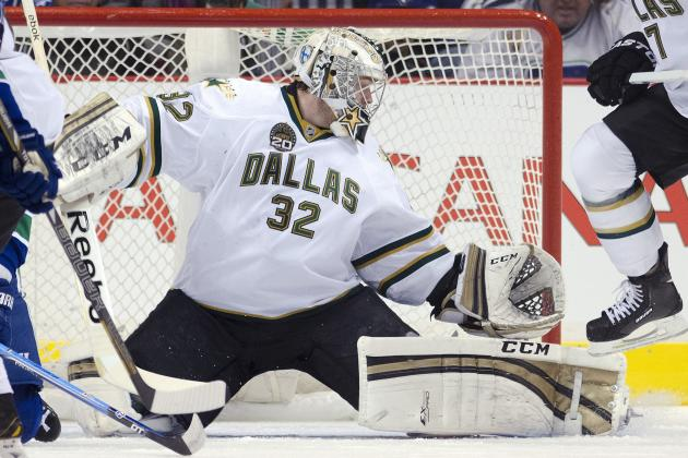 Kari Lehtonen Leaves Game with Lower Body Injury, Will Be Re-Evaluated Saturday