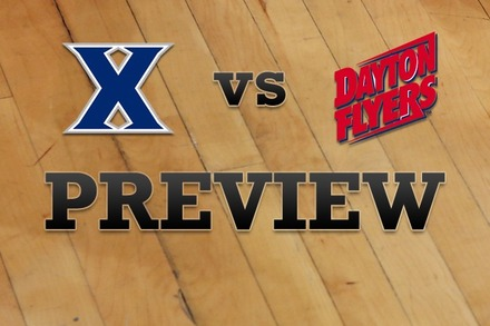 Xavier vs. Dayton: Full Game Preview