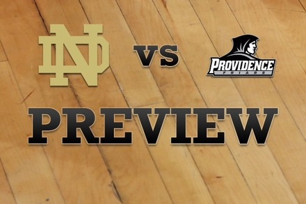 Notre Dame vs. Providence: Full Game Preview