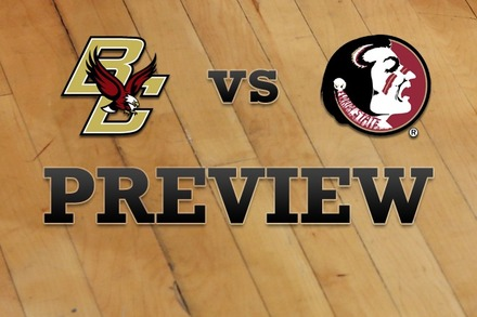 Boston College vs. Florida State: Full Game Preview