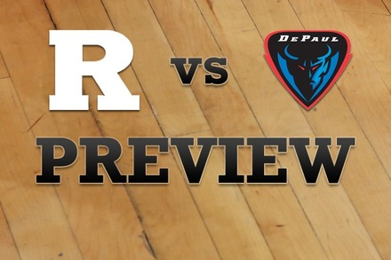 Rutgers vs. DePaul: Full Game Preview