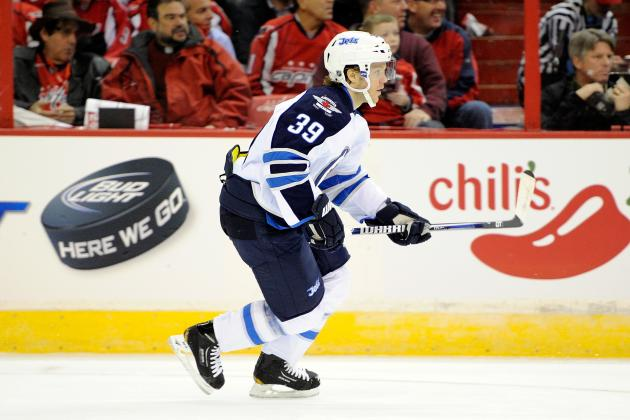 Tobias Enstrom Injured as the Winnipeg Jets Lose 3-1 to the Pittsburgh Penguins