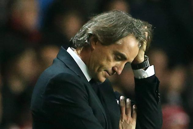 Mancini: Manchester City Owners Unhappy but I Don't Feel Under Pressure
