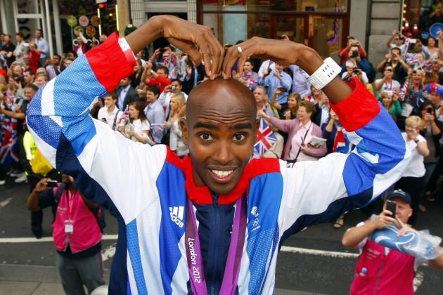 Olympic Star Mo Farah to Run in London Marathon