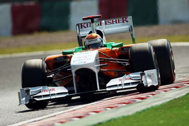 Force India Lining Adrian Sutil Up for Barcelona Testing