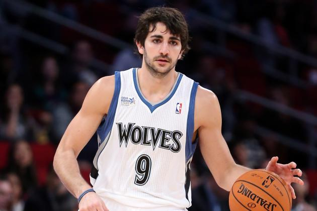 Ricky Rubio with Some Ridiculous Highlights from the Rising Stars Challenge