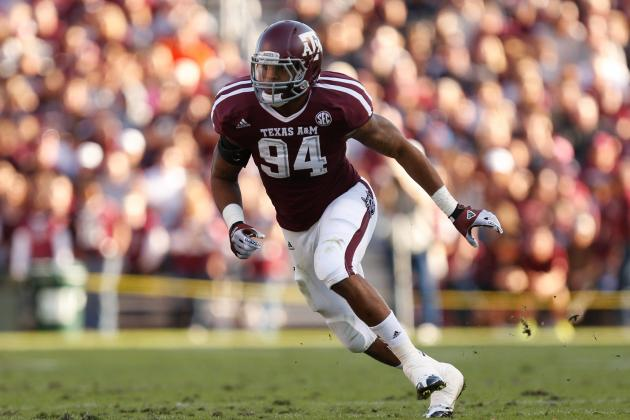 2013 NFL Mock Draft: Damontre Moore and Best Athletes Available