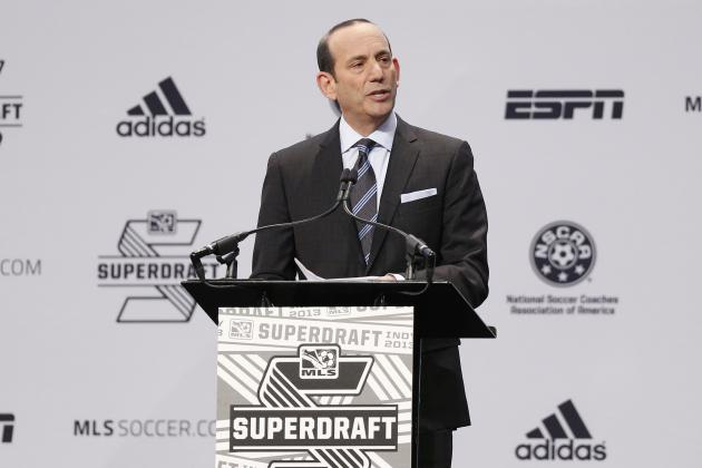 MLS Commissioner Don Garber Shows His Support for Robbie Rogers
