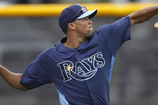 Rays' One-Eyed Reliever Sandoval Keeps Focus Forward