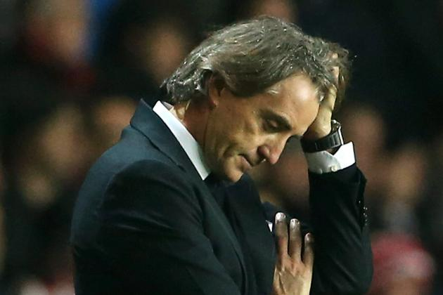 Manchester City: Roberto Mancini Pinned Under Weight of Unreasonable Expectation