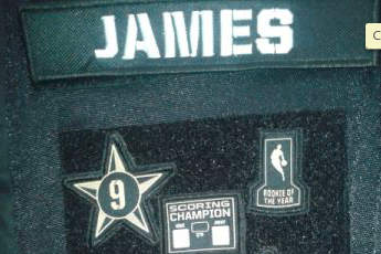 LeBron's All-Star Warm Ups