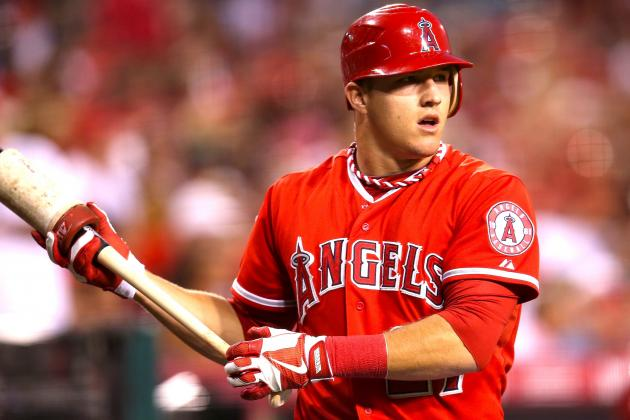 How Mike Trout's 10-15 Pound Weight Increase Could Impact Power, Speed and Range