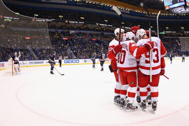 Detroit Red Wings: Still No Telling If Playoff Hopes Are Fantasy or Reality