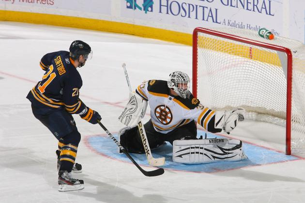 Buffalo Sabres Shine in 3rd Period Against the Boston Bruins