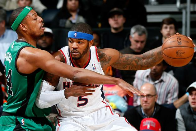 Josh Smith, Boston Celtics a Perfect Marriage on Paper but Not in Reality