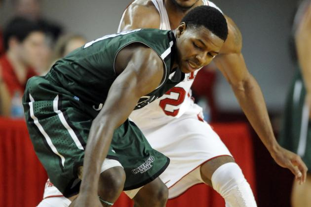 Cleveland State's Long Scoring Drought Costly in 66-59 Loss to Green Bay