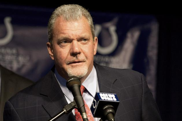 "Irsay Calls Collie ""a Warrior and an Inspiration"" as Colts Say Goodbye"
