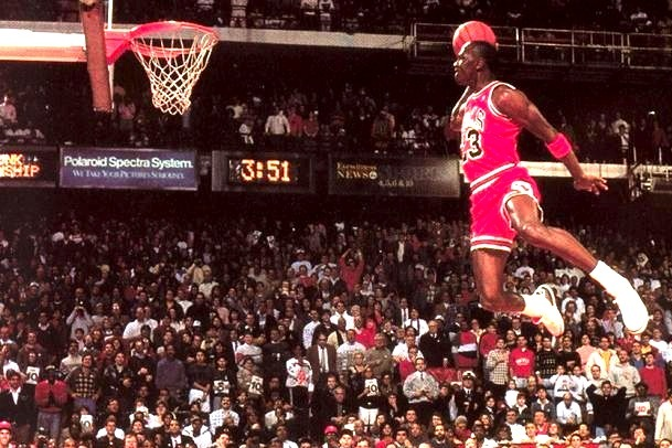 NBA Stars and Legends Recall the Greatest Dunk Contest, Jordan vs. Wilkins
