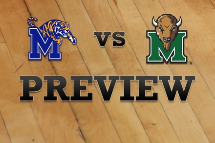 Memphis vs. Marshall: Full Game Preview