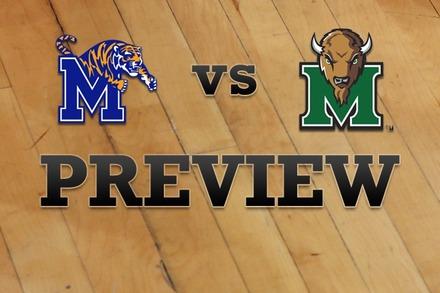 Memphis vs. Marshall: Full Game Preview