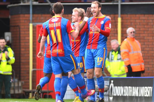 EPL Promotion Watch: Palace Thrashes Boro, Hull Pulls Within 8 of Cardiff