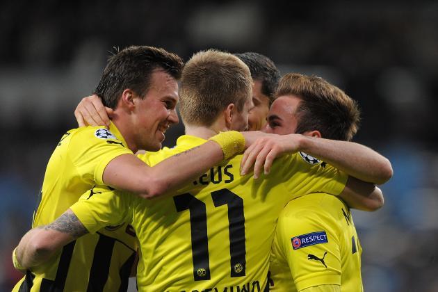 Dortmund 3-0 Frankfurt: Reus Hat Trick