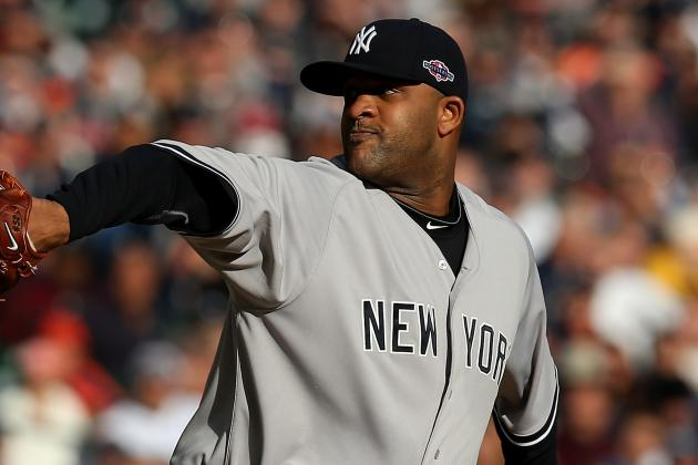 Yankees Ace CC Sabathia Throws off a Mound for First Time Since Surgery