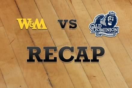 William & Mary vs. Old Dominion: Recap, Stats, and Box Score
