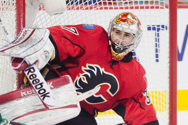 Flames Reassign Leland Irving to Abbotsford and Recall Danny Taylor
