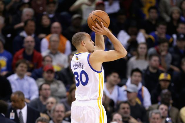 Curry Ready for the Three-Point Contest