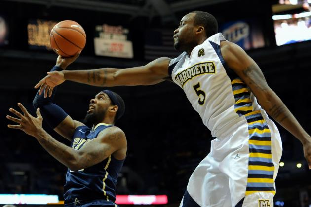 Marquette Tops Pitt for 23rd Straight Home Win