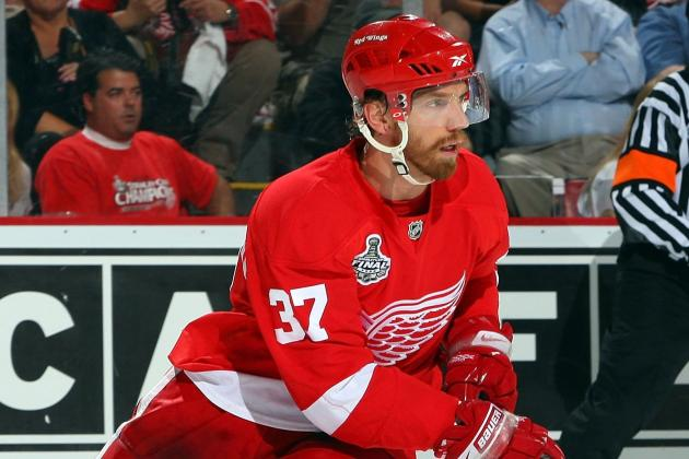 Mikael Samuelsson Will Be Back in Red Wings' Lineup for Sunday's Game
