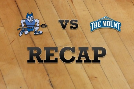 Central Conn.  vs. Mount St. Mary's: Recap, Stats, and Box Score
