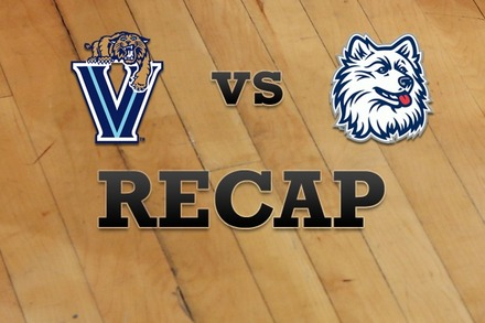 Villanova vs. Connecticut: Recap, Stats, and Box Score