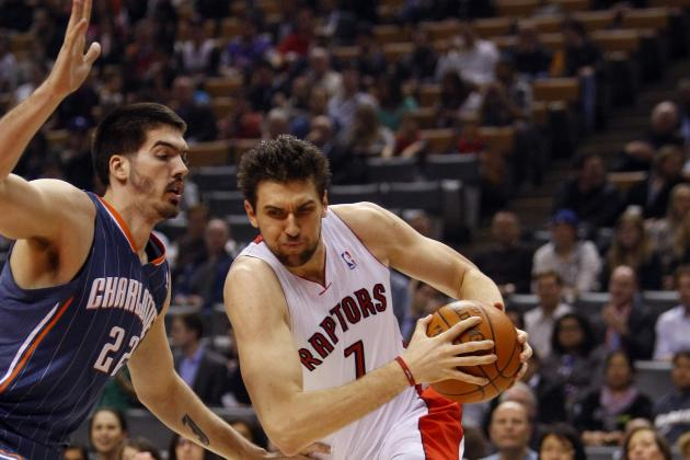 NBA Trade Rumors: Bobcats Would Be Crazy to Take on Andrea Bargnani's Contract