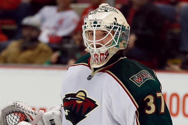 Josh Harding to IR; Wild Recall Jason Zucker and Johan Larsson