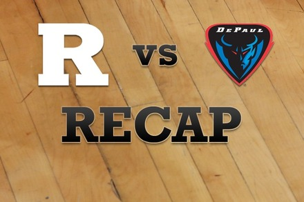 Rutgers vs. DePaul: Recap, Stats, and Box Score