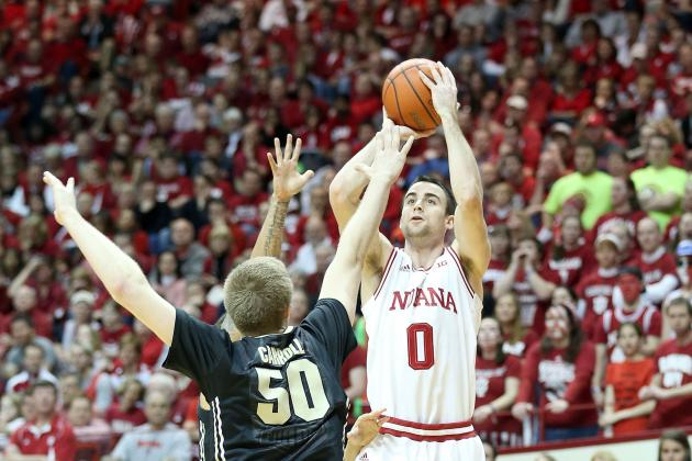 Sheehey's Career Day Sparks Indiana's Rout