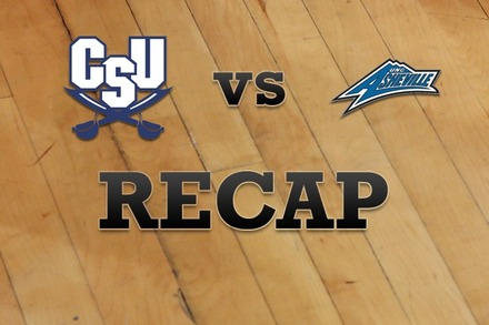 Charleston Southern vs. UNC Asheville: Recap, Stats, and Box Score