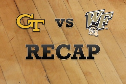 Georgia Tech vs. Wake Forest: Recap, Stats, and Box Score