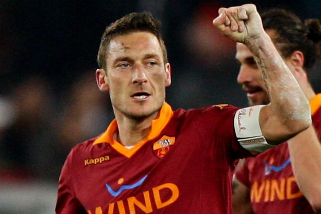 Francesco Totti's Rocket Blast That Beat Juventus