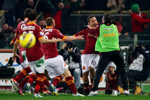 Juventus falls to surprise 1-0 defeat at Roma