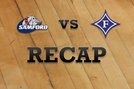 Samford vs. Furman: Recap, Stats, and Box Score