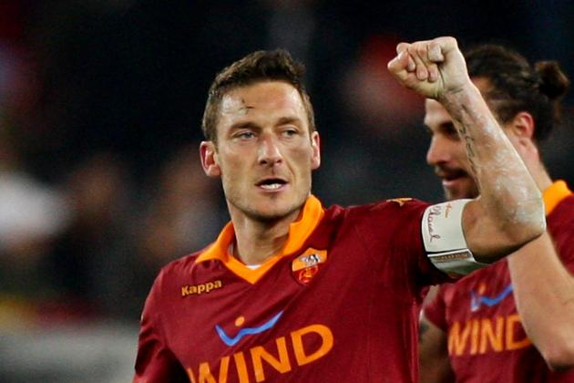 How Francesco Totti Single-Handedly Changed the Serie a Race